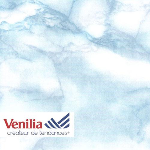 Adhésif déco marbre bleu