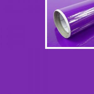 Adhésif déco violet Brillant