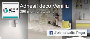 Aimer Adhésif Deco sur Facebook